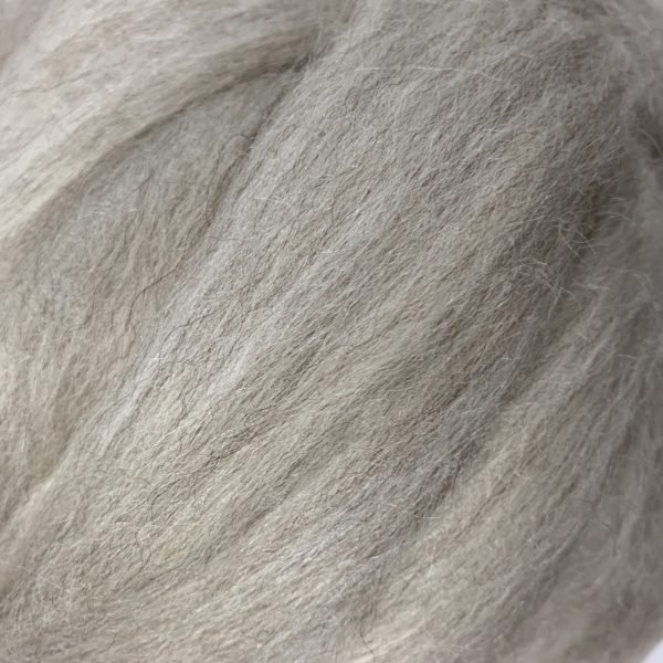 mixed bfl tussah silk blend